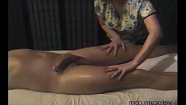 Hidden Cam Baby Stroking Dick While Covered In Oil Together 1